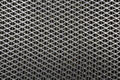Maille en acier Grille de filtre à air de voiture Texture de gril en métal de vehic Images stock