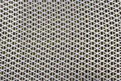 Maille en acier Grille de filtre à air de voiture Texture de gril en métal de vehic Photos libres de droits