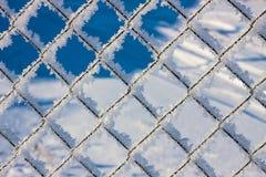 Maille en métal dans la gelée Image stock