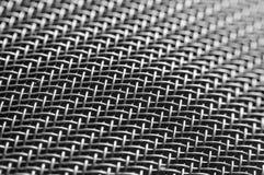 Maille en métal Milieux ou texture Image stock