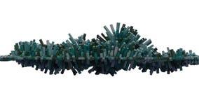 maille 4K cubique abstraite illustration de vecteur