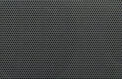 Maille noire et grise de haut-parleur photographie stock libre de droits