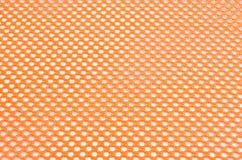Maille orange de sécurité photographie stock libre de droits