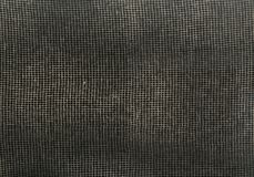 Maille rectangulaire de fil de tissu sur le fond foncé image libre de droits