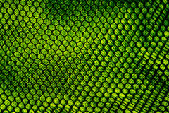 Maille verte abstraite images stock