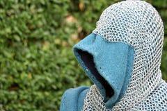 Maillet et d'autres armes médiévales pendant la reconstitution Photo libre de droits