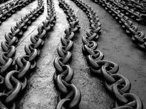 Maillons de chaîne images libres de droits