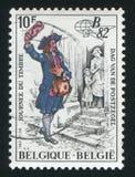 mailman που τυπώνεται από το Βέλγιο Στοκ φωτογραφίες με δικαίωμα ελεύθερης χρήσης