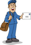 Mailman Illustrazione di Stock