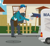 Mailman Stock Photography