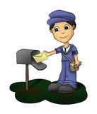 Mailman Royalty Free Stock Image