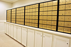 Mailroom Stock Photography