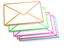 Mails Royalty Free Stock Photo