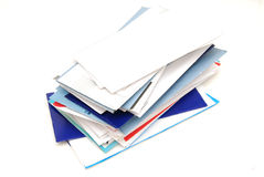 Mails Stock Photography