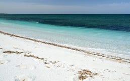 Maimoni beach. Summer in the beautiful Sardinian beach Royalty Free Stock Photo