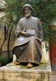 Maimonides、犹太医师和哲学家,科多巴,西班牙 免版税库存照片