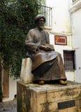Maimonides, εβραϊκοί παθολόγος και φιλόσοφος, Κόρδοβα, Ισπανία Στοκ Εικόνες
