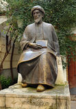 Maimonides, Jewish physician and philosopher, Cordoba, Spain. Statue of Maimonides, famous jewish philosopher born in Cordoba, Spain royalty free stock photos