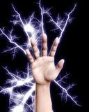 Main électrique Photos libres de droits