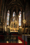 The main altar of the basilica Stock Image