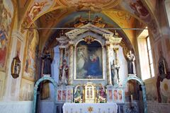 Free Main Altar In Church Annunciation In Klanjec, Croatia Royalty Free Stock Image - 185498596
