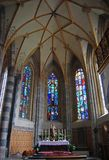 Main altar of the Pfarrkirche in Schwaz Royalty Free Stock Image