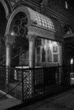 Main altar, San Miniato al Monte Stock Image