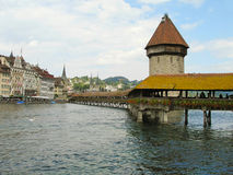 The main attractions of Lucerne, Switzerland. royalty free stock image