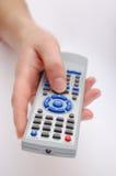 Main avec à télécommande Images stock