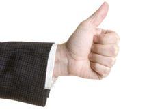 Main avec le pouce vers le haut Photos libres de droits
