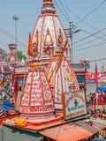 Main Bathing Ghat in Haridwar Stock Photo