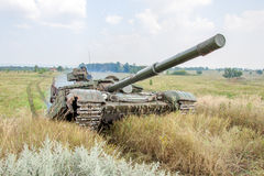 Main battle tank Royalty Free Stock Images