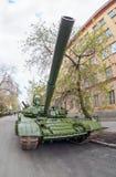 Main battle tank T-72 Stock Photo
