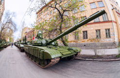 Main battle tank T-72 Royalty Free Stock Images