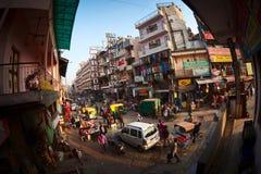 Main Bazaar Road Stock Photo