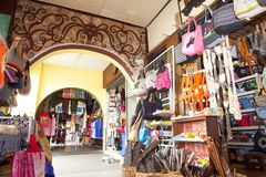 Main Bazaar stock image