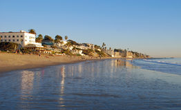 Main Beach at Laguna Beach, California during low tide. Royalty Free Stock Photos