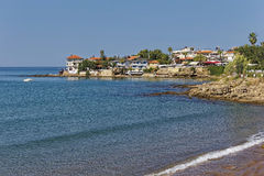 The Main Beach of Side. In Turkey Stock Photography