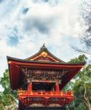 Main bell tower,pagoda at shinshoji temple Stock Image