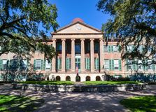 Main Building College of Charleston in South Carolina SC royalty free stock photography