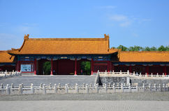 The main building in the forbidden city, China Stock Photo