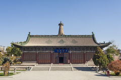 The main building in Great Buddhist Temple Stock Photos