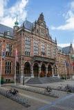 Main building of the Groningen University Stock Image