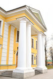 The main building of the guardhouse in Peter and Paul Fortress. The main building of the guardhouse in Peter and Paul Fortress in St.Petersburg, Russia Stock Images