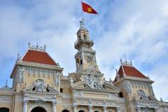 Main building of Ho Chi Minh City Hall, 2016 VietNam Stock Photography