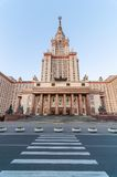 The main building of Lomonosov Moscow State Royalty Free Stock Photo