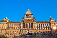 Main building of the National Museum in Prague Stock Photos