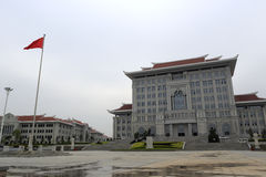 Main building, new campus of xiamen university Royalty Free Stock Images