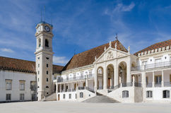 Main Building Of The Coimbra Royalty Free Stock Photography