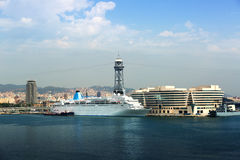 Main building of Port Vell. Barcelona Stock Images